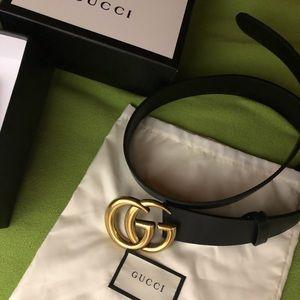 Ladies gg gold belt